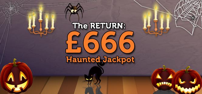 Haunted Jackpots
