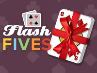 Cards + Bingo = Flash Fives