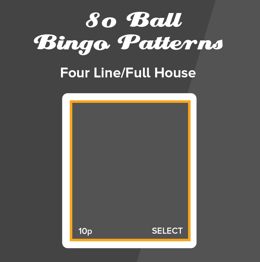 80 Ball Bingo Full House