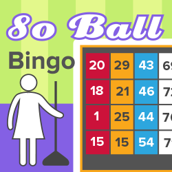 80 Ball Bingo Game