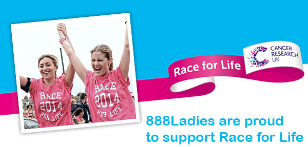 888ladies supports Race for LIfe