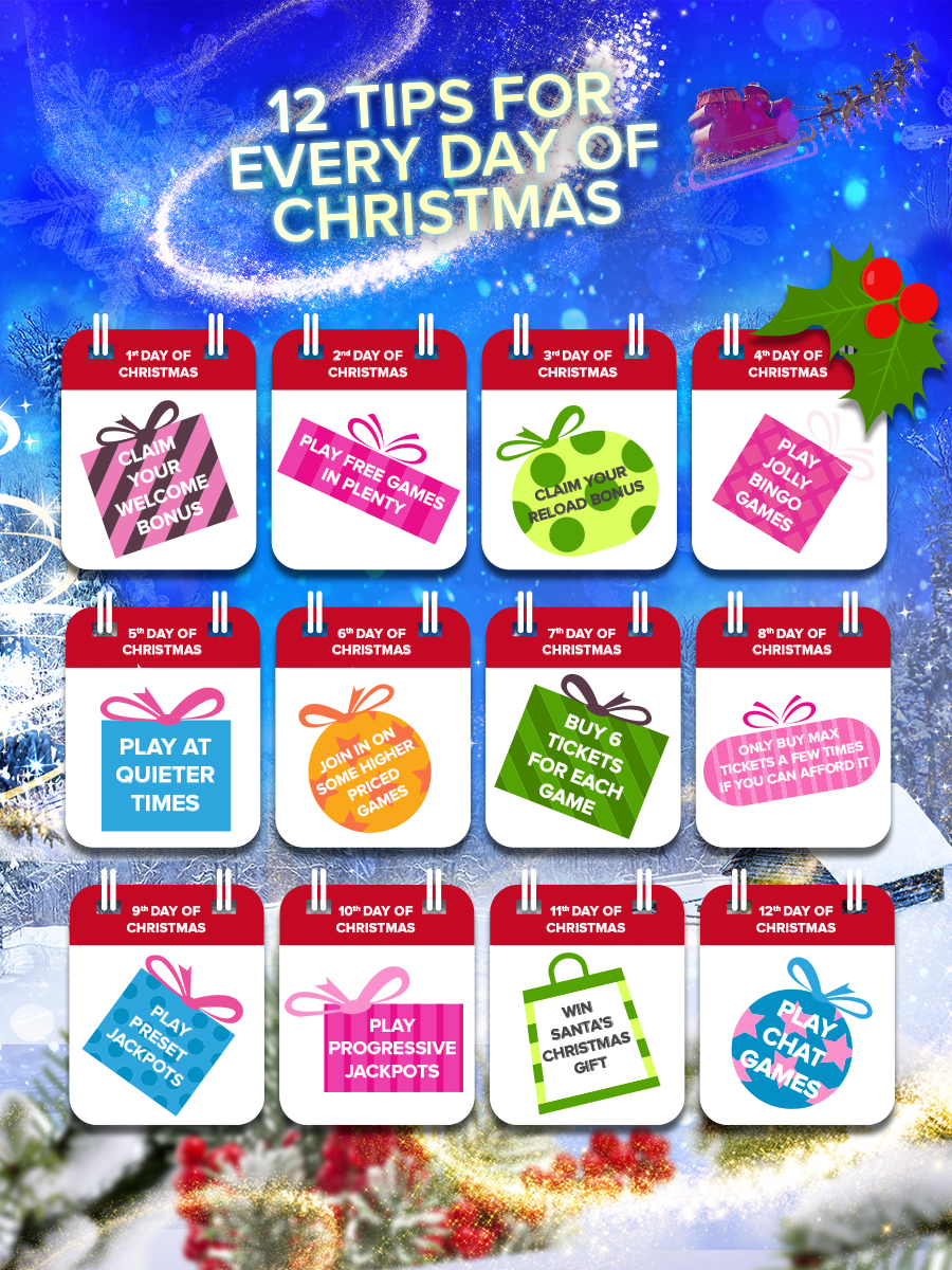 Christmas Bingo Budget 12 Tips