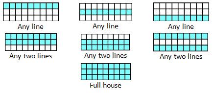 picture regarding Bingo Patterns Printable referred to as 90-ball Bingo - Legislation and Video game Description